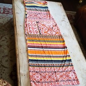 Hale Bob tube maxi dress
